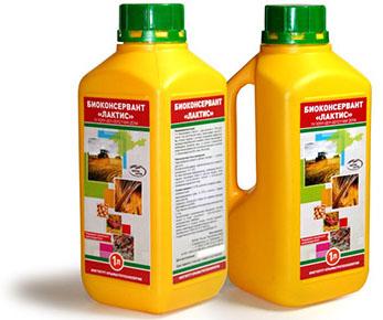Лактис - консервант для сенажа и силоса